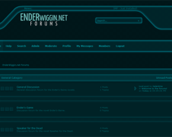 EnderWiggin.net Forums Now Open