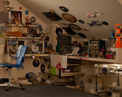 First Look at Ender Wiggin's Bedroom