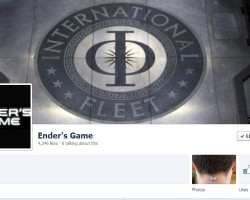 Summit Launches Official 'Ender's Game' Facebook Page