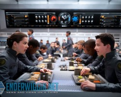 Fansite Exclusive: New 'Ender's Game' Movie Still of Salamander Army
