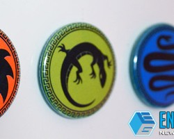 GIVEAWAY: 2 Sets of Ender's Game Army Buttons/Magnets