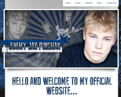 Jimmy Jax Pinchak Launches Official Website