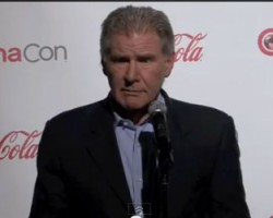 Harrison Ford Talks 'Ender's Game' at CinemaCon