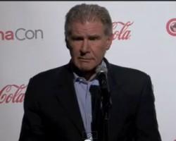 Harrison Ford Talks 'Ender's Game' at CinemaCon