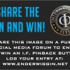GIVEAWAY: Share the Pin and Win an IF Button