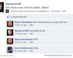 If Battle School Allowed Facebook Part 2