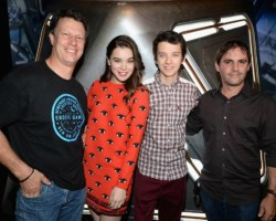 PHOTOS: Asa, Hailee, Gavin Hood and Bob Orci at the EG Experience