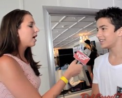 VIDEO: Aramis Knight on Ender's Game, Harrison Ford, and Comic Con