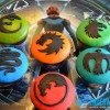 Ender's Game Battle School Cupcakes