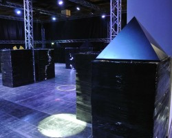 PHOTOS: Ender's Game Lasertag Arena Setup at Gamescom