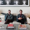 Alex Kurtzman and Roberto Orci in September Issue of Elle