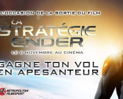 Metropolitan Films Launches Massive Lasertag Competition for 'La Stratégie Ender'