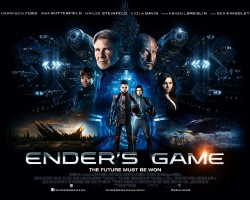New UK Ender's Game Poster