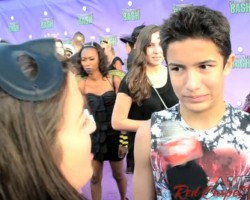 VIDEO: Aramis Knight at Hub Network's Halloween Bash