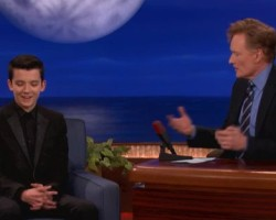 VIDEO: Asa Butterfield on Conan