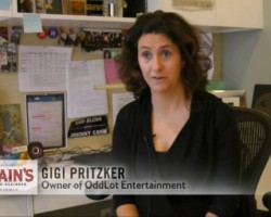 VIDEO: Gigi Pritzker on Making Ender's Game
