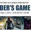 IT Companies Sponsoring Special Screenings for 'Ender's Game'