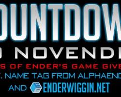 Countdown to NovEnder Day 1: I.F. Name Tag