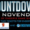 Countdown to NovEnder Day 10: Two Tickets to Ender's Game