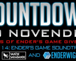 Countdown to NovEnder Day 14: Ender's Game Soundtrack
