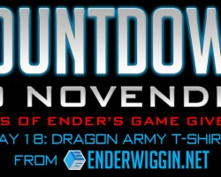 Countdown to NovEnder Day 18: Dragon Army T-Shirt