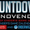 Countdown to NovEnder Day 2: Ender's Game Calendar