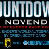 Countdown to NovEnder Day 21: Orson Scott Card Autographed Copy of Ender's World