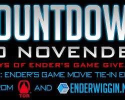 Countdown to NovEnder Day 7: Ender's Game Movie Tie-in Edition