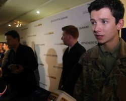 VIDEOS: Ender's Game Cast and Crew at MCM London Comic Con