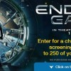 Win a Private Screening of Ender's Game with Popcorn, Indiana!