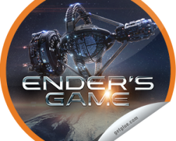 Check-in to Ender's Game and Get the Opening Weekend Sticker