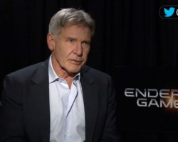 VIDEOS: HitFix with Asa Butterfield and Harrison Ford