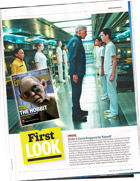 Entertainment Weekly December 14, 2012