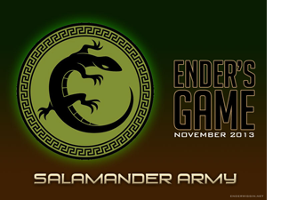 Salamander Army Wallpaper