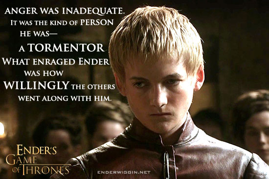 Ender's Game of Thrones - Joffrey