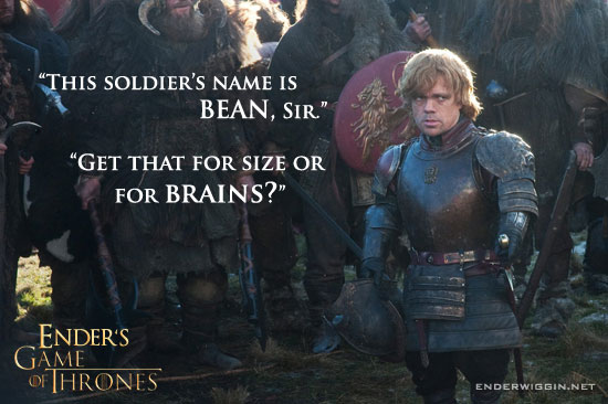 Ender's Game of Thrones - Tyrion