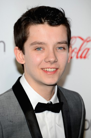 Asa Butterfield at CinemaCon 2013.