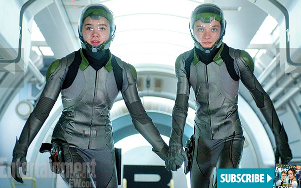 Asa Butterfield and Hailee Steinfeld Talk Flash Suits and ...
