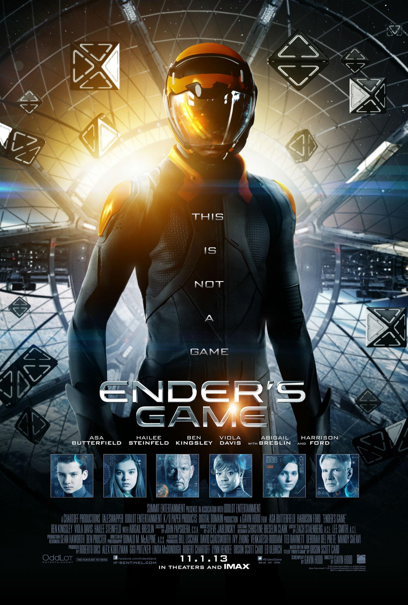 Enders Game BrRip 720p Sub Español MEGA