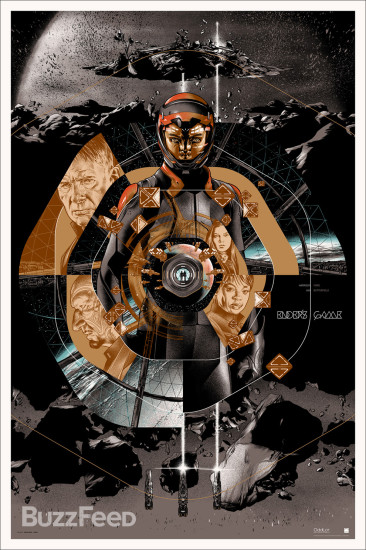 Ender's Game Mondo Gold