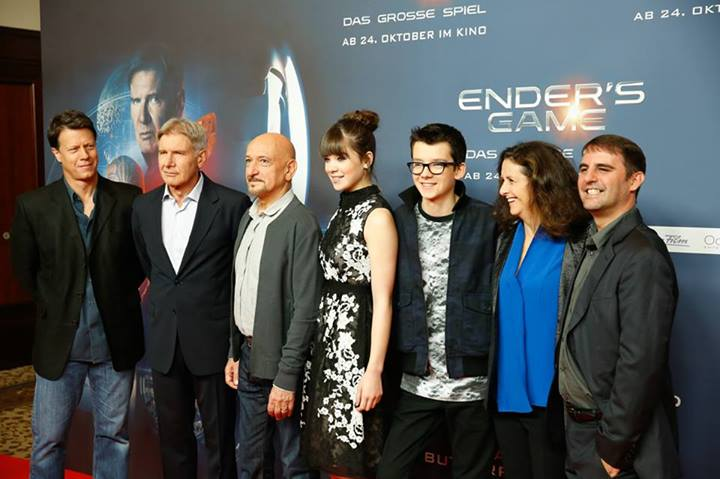 GALLERY: Cast and Producers Present Ender's Game in Berlin ...