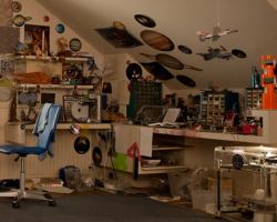 First Look at Ender Wiggin's Bedroom