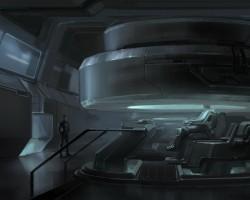 Ben Procter's Artwork of Ender's Command Simulator Deck