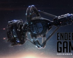 """Download a """"Protect Earth"""" Ender's Game Wallpaper"""