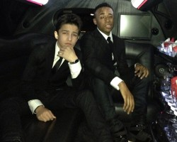 PHOTOS: Aramis Knight and Khylin Rhambo Attend Oscars After Party