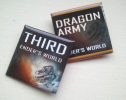 Ender's World Buttons from Smart Pop Books