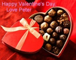 "Win a Valentine from ""Peter"""