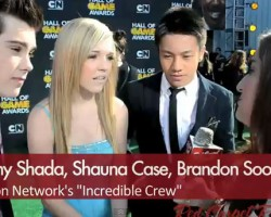 Video & Photos: Brandon Soo Hoo at the Hall of Game Awards