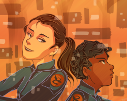 Fan-made Friday: Petra and Bean by Zethia