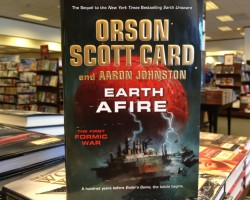 'Earth Afire' Hits Bookstores Today